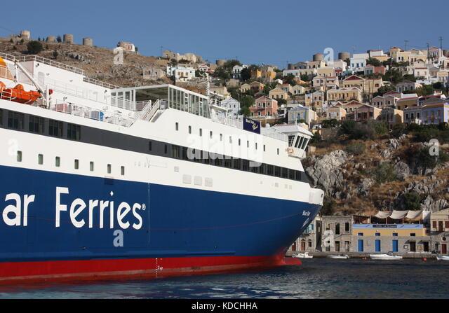 Greek Ferries Stock Photos & Greek Ferries Stock Images ...