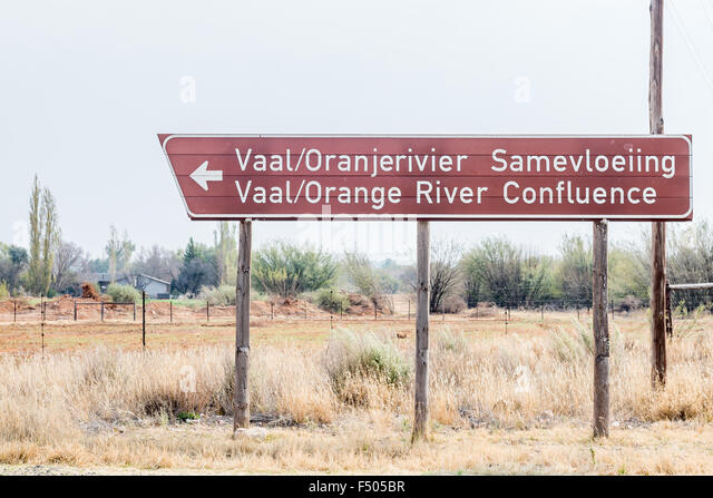 Douglas South Africa  city photos : DOUGLAS, SOUTH AFRICA AUGUST 25, 2015: Road sign pointing to the ...