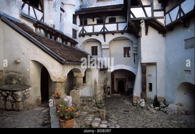 Bran castle interior