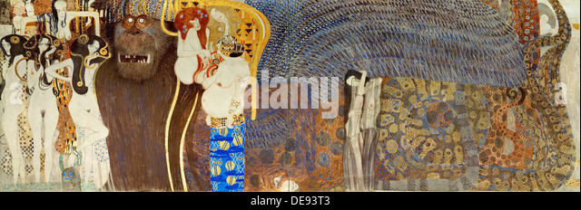Gustav Klimt Beethoven Stock Photos & Gustav Klimt Beethoven Stock ...