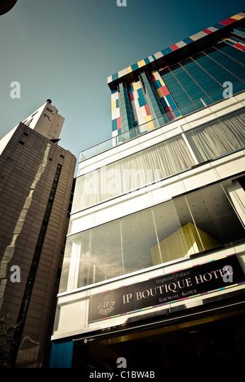 Itaewon seoul stock photos itaewon seoul stock images for Design hotel korea