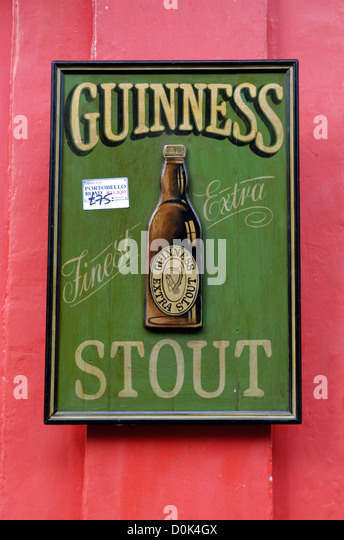 Advertising Sign For Guinness Stock Photos Amp Advertising