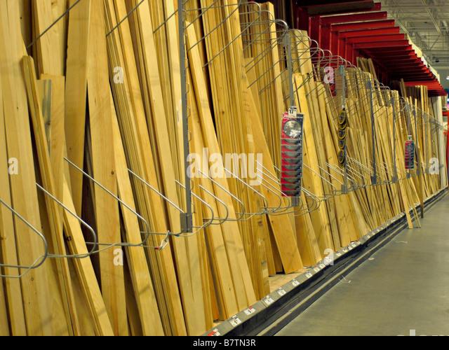 Construction materials store stock photos construction for Paris building supply paris tn