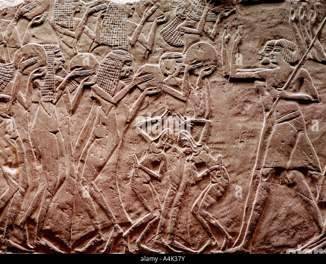 Ancient egyptian art stock photos