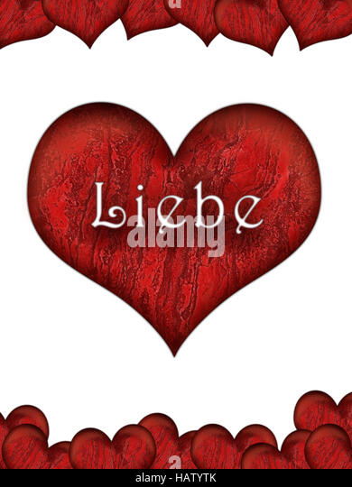 Valentinstag De   Stock Image
