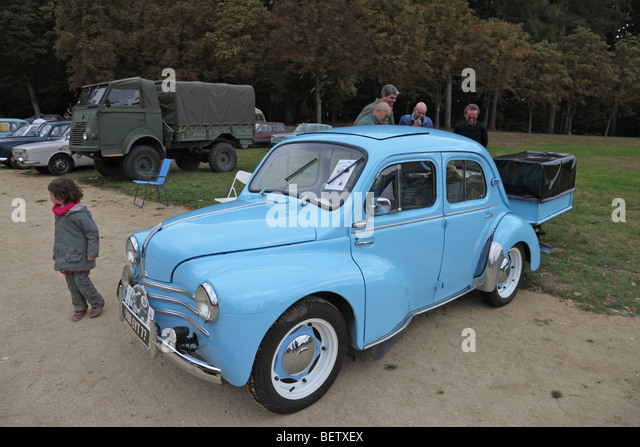 renault classic french small car stock photos renault classic french small car stock images. Black Bedroom Furniture Sets. Home Design Ideas