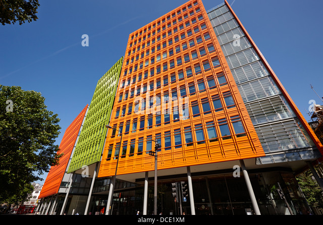 google london offices central st. Central Saint Giles Office Building Home To Google Uk London England UK - Stock Image Offices St O