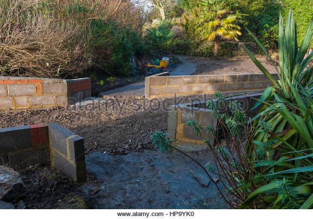 Borde hill garden uk stock photos borde hill garden uk for Garden redesign