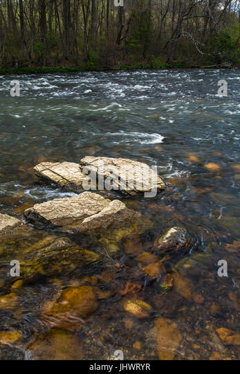 Sycamore Shoals in Elizabethton, Tennessee - Stock Image