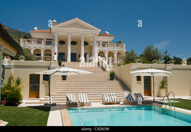 Spanish villa stock photos spanish villa stock images for Spanish villa interior design