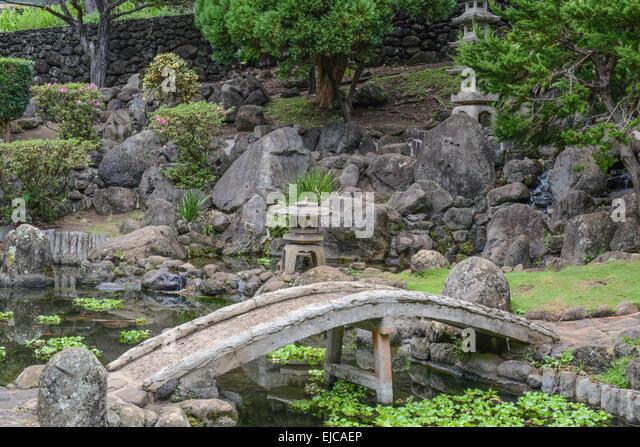 Lovely Japanese Garden   Stock Image