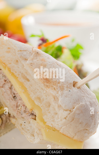 Tuna sandwich stock photos tuna sandwich stock images for Fish and cheese