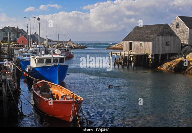 Halifax nova scotia harbour stock photos halifax nova for Nova scotia fishing