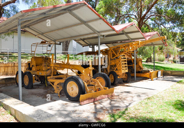 Farm Equipment Shelters : Antique machinery stock photos