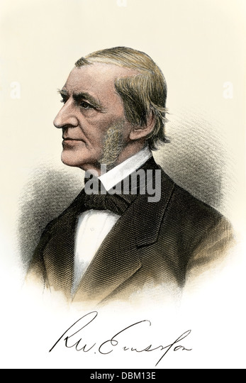 american essayist emerson On may 25, 1803, american essayist, lecturer, and poet ralph waldo emerson was born, who led the transcendentalist movement of the mid-19th century he was seen as a champion of individualism and a prescient critic of the countervailing pressures of society.