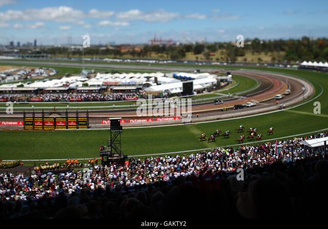 flemington racecourse stock photos amp flemington racecourse