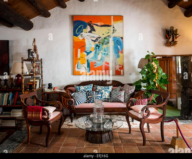 Casa cesar manrique museum manrique stock photos casa - Casa museo cesar manrique ...