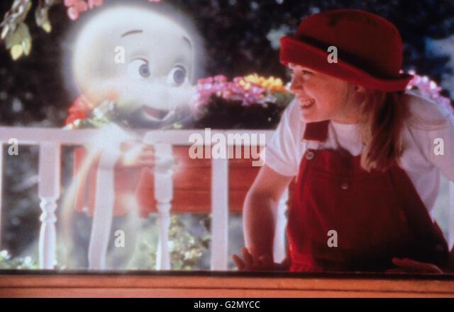 casper and wendy costume. hilary duff,casper meets wendy,1998 - stock image casper and wendy costume
