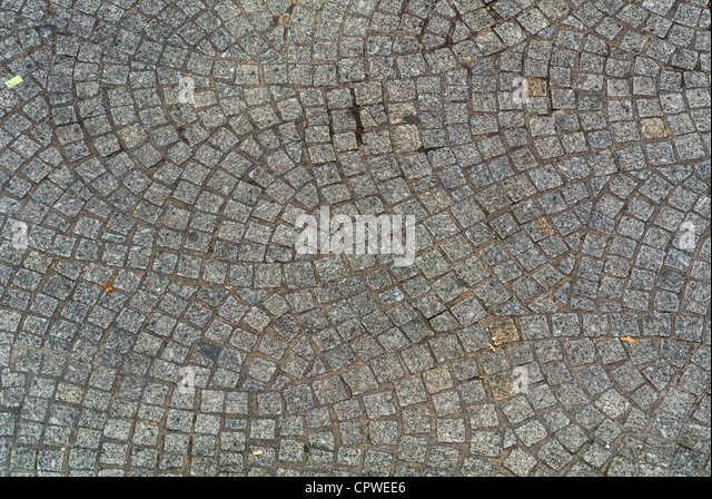 Stone Pavement In Paris : Rythmes stock photos images alamy