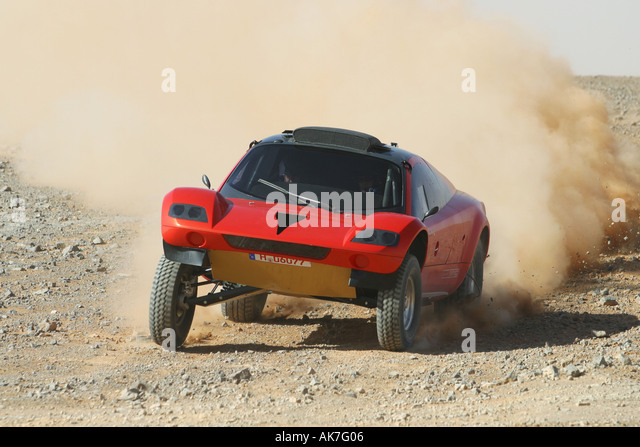 Qinta do Lago Portugal  city photo : VW Tarek rallye car with Jutta Kleinschmidt as driver Stock Image