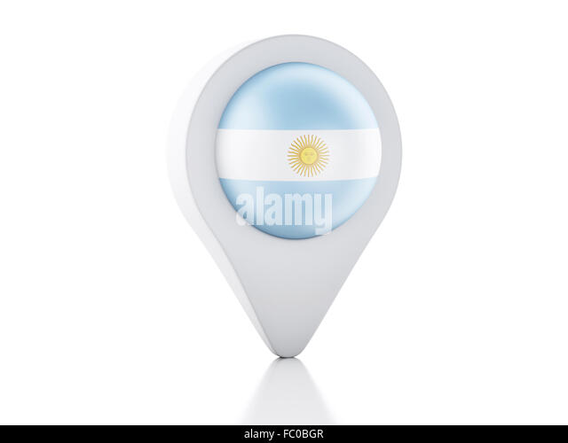 Argentina Country Flag Map Shape Stock Photos Argentina Country - Argentina 3d map