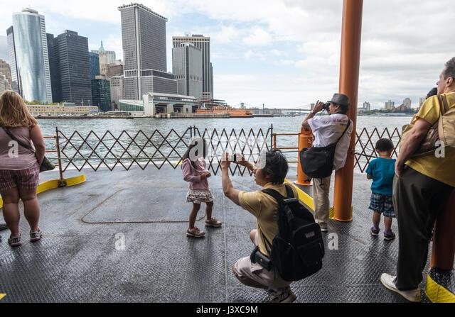 Taking Car On Staten Island Ferry