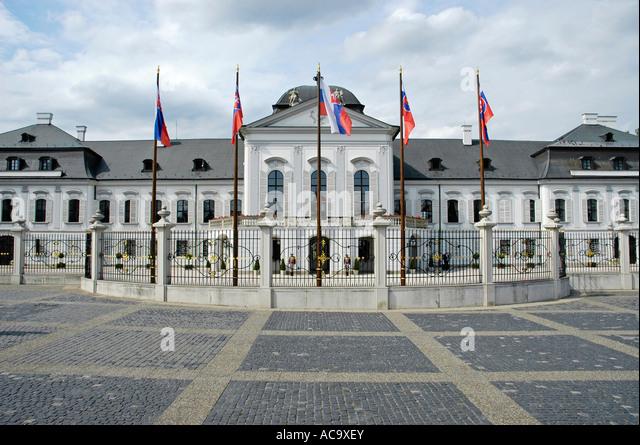 Slovak president residence stock photos slovak president for Design hotel 21 bratislava kontakt