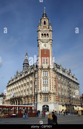 France nord picardy nord lille stock photos france nord for Chambre de commerce de lille