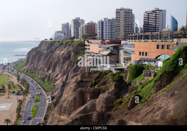 Costa verde highway stock photos costa verde highway for Piso 9 malecon center