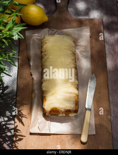Vegan Lemon Cornmeal Cake