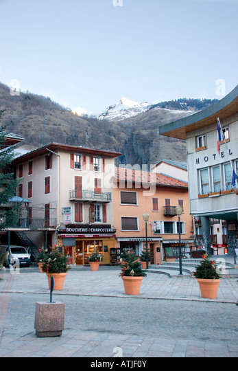 Bourg Saint Maurice France French Alps Stock Photos