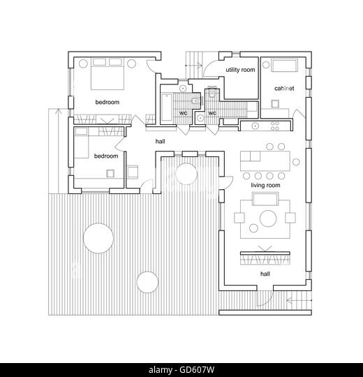 Floorplan apartment stock photos floorplan apartment for Apartment stock plans