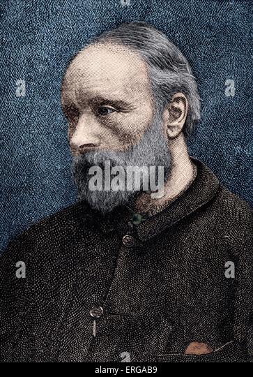 Sir Edward Burne Jones Portrait British Artist And Designer Associated Stock Photos