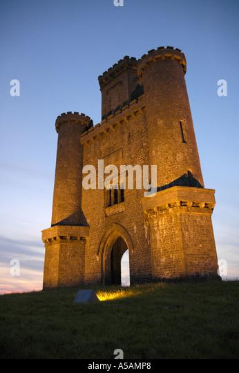 Paxtons Tower Llanarthne Carmarthenshire Wales Stock ... | 346 x 540 jpeg 48kB