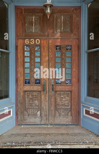 Duck carving stock photos duck carving stock images alamy for Duck house door size