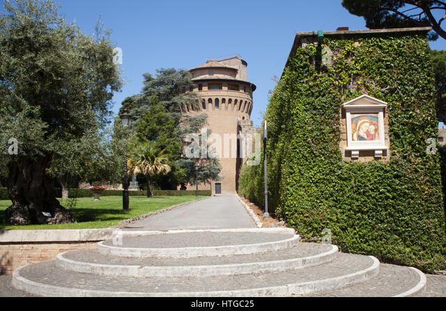 Vatican Gardens Stock Photos Vatican Gardens Stock