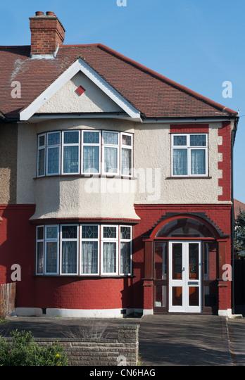 Semi Detached House semi detached house stock photos & semi detached house stock