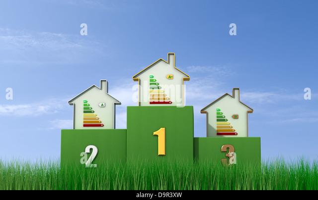 Green certified home stock photos green certified home for Green certified home