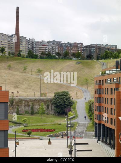 Bilbao city council bilbao spain architect stock photos - Plaza del gas bilbao ...