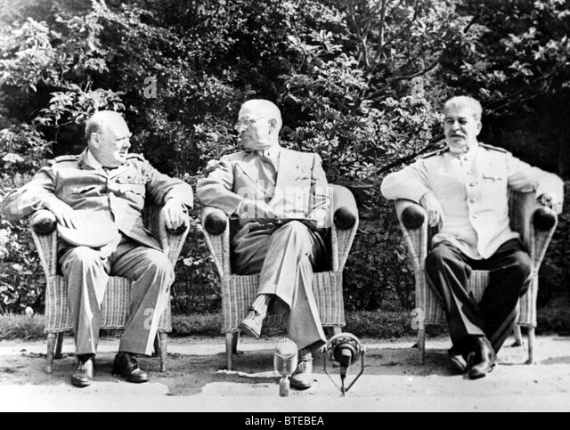 Potsdam Conference Stock Photos & Potsdam Conference Stock Images ...