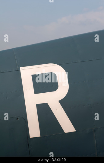 Letter xi stock photos letter xi stock images alamy mk xi spitfire aircraft detail letter r stock image spiritdancerdesigns Image collections