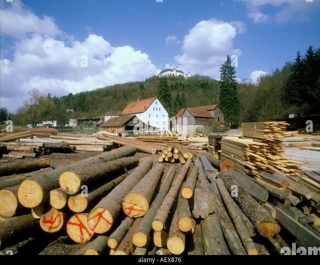 Lumbermill stock photos images alamy
