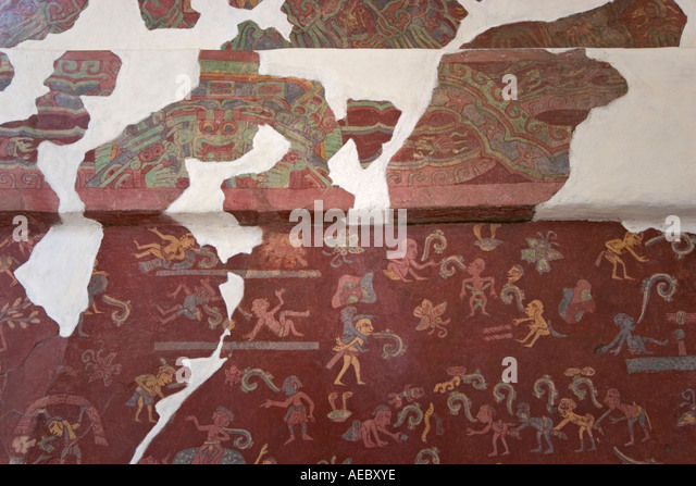 Tepantitla stock photos tepantitla stock images alamy for Clarks mural fresco