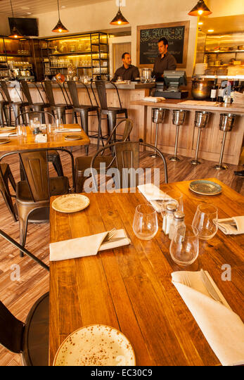 Dining Room And Bar Of SY Kitchen Santa Ynez Valley California