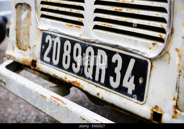 French Car Number Stock Photos French Car Number Stock Images