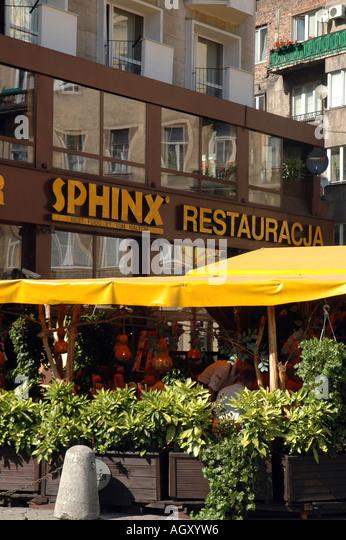 Sphinx Cafe Menu