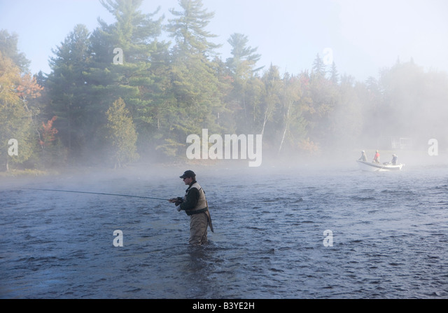 Drift boat stock photos drift boat stock images alamy for Fishing lakes around me