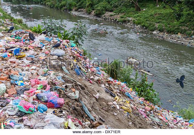Pollution River Rubbish Stock Photos Amp Pollution River