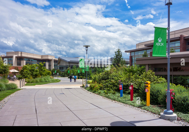 microsoft office redmond wa. Microsoft Head Office Campus In Redmond, Washington, USA - Stock Image Redmond Wa