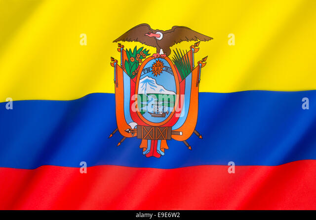 Ecuador Flag Stock Photos Amp Ecuador Flag Stock Images Alamy